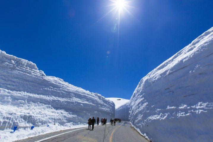 富山雪の大谷