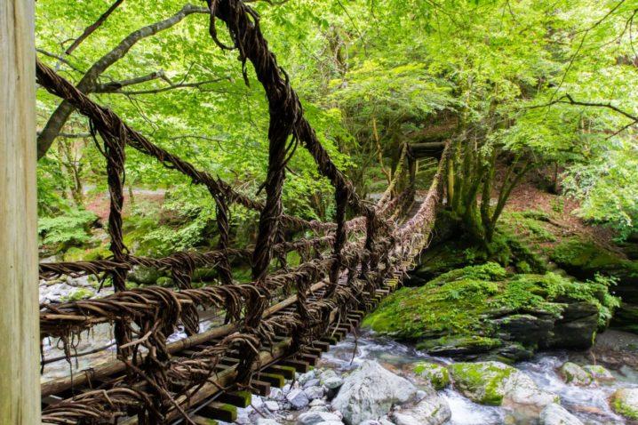 徳島祖谷渓