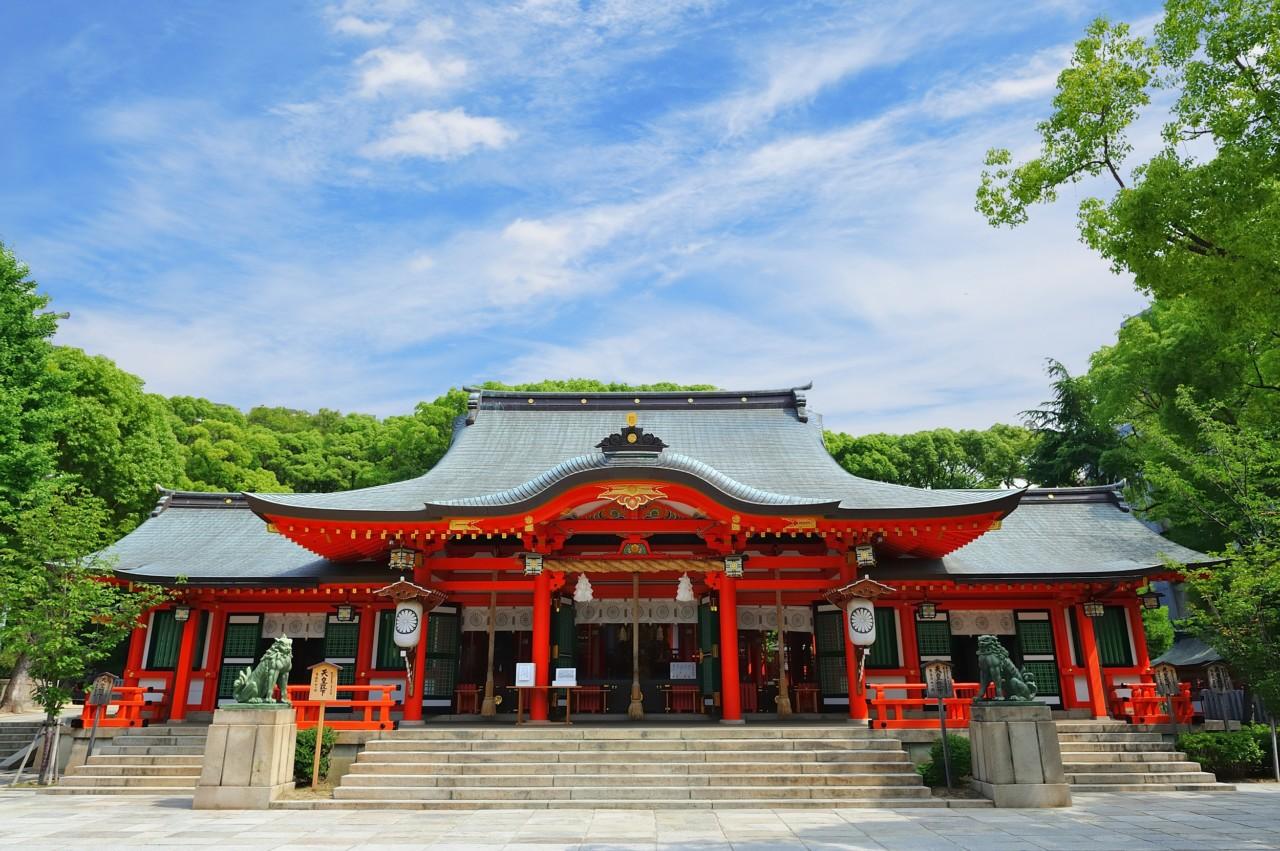 兵庫生田神社
