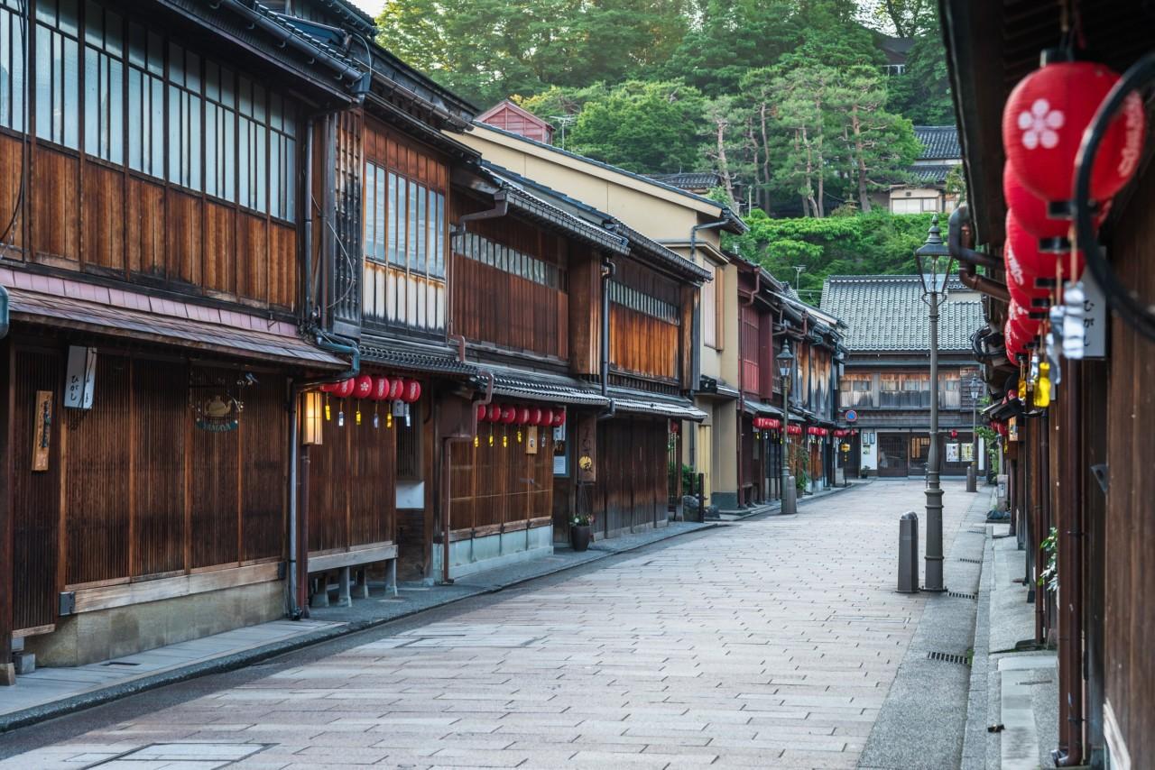 石川金沢ひがし茶屋街