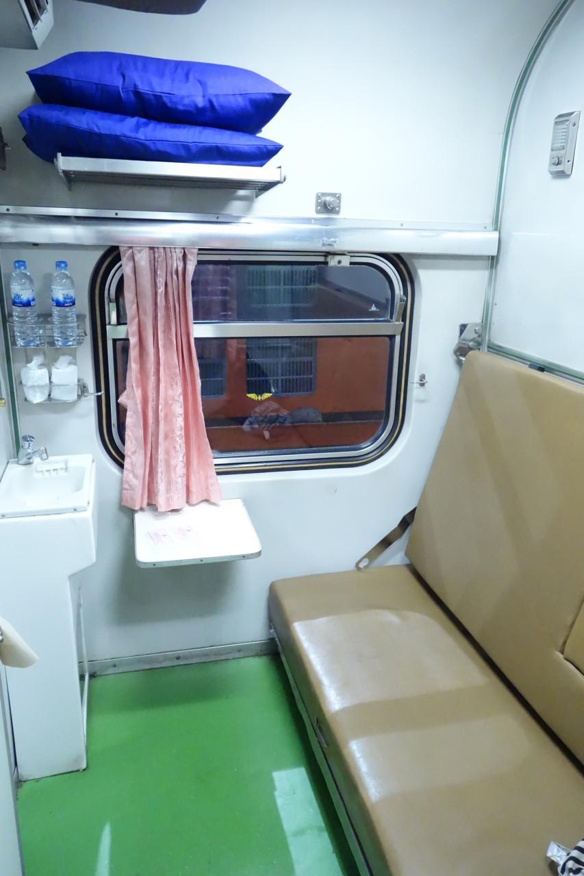 チェンマイまで列車