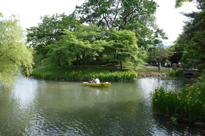 中島公園の屋台
