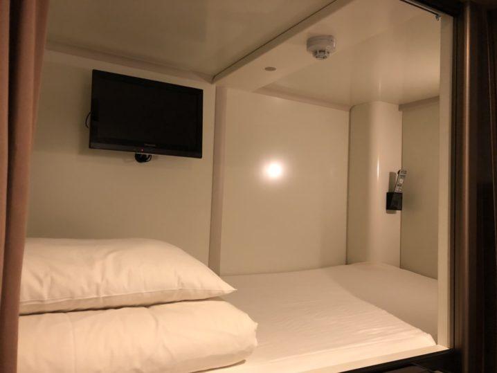 広島のカプセルホテルCUBE